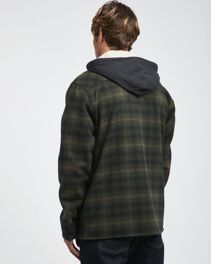 10 Furnace - Hemd in Verbundstoff für Männer Grün Q1SH12BIF9 Billabong