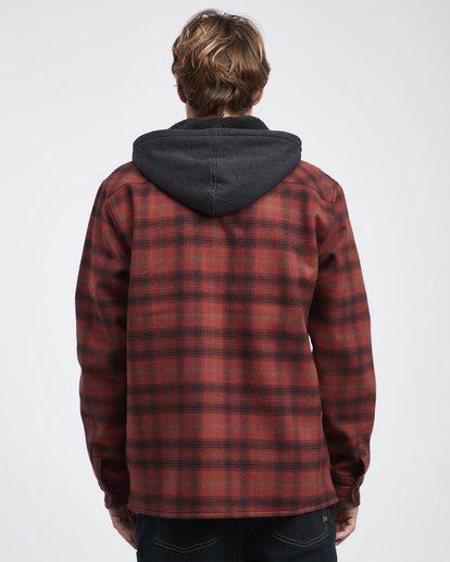 8 Furnace - Camisa Reforzada para Hombre Rojo Q1SH12BIF9 Billabong