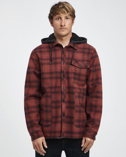 7 Furnace - Camisa Reforzada para Hombre Rojo Q1SH12BIF9 Billabong