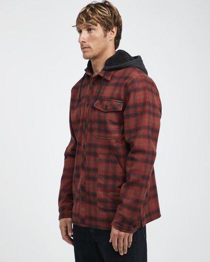 9 Furnace - Camisa Reforzada para Hombre Rojo Q1SH12BIF9 Billabong
