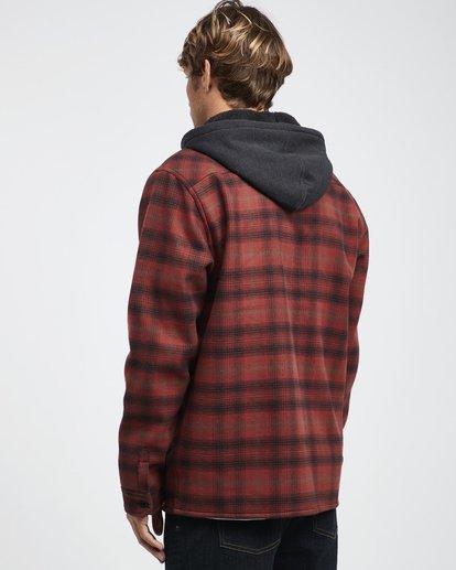 10 Furnace - Camisa Reforzada para Hombre Rojo Q1SH12BIF9 Billabong