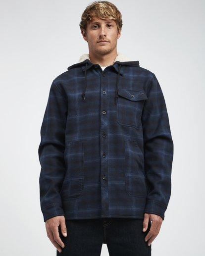2 Furnace - Hemd in Verbundstoff für Männer Blau Q1SH12BIF9 Billabong