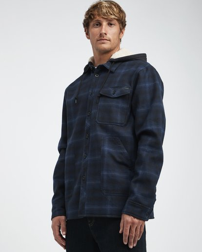 4 Furnace - Hemd in Verbundstoff für Männer Blau Q1SH12BIF9 Billabong