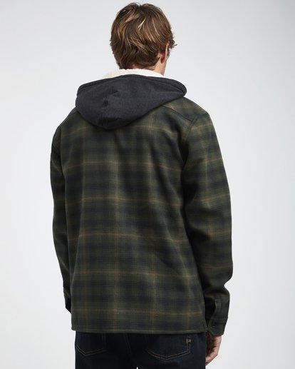 3 Furnace - Camisa Reforzada para Hombre Verde Q1SH12BIF9 Billabong