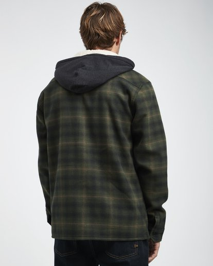 3 Furnace - Hemd in Verbundstoff für Männer Grün Q1SH12BIF9 Billabong