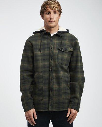 2 Furnace - Hemd in Verbundstoff für Männer Grün Q1SH12BIF9 Billabong