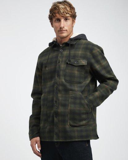 4 Furnace - Camisa Reforzada para Hombre Verde Q1SH12BIF9 Billabong