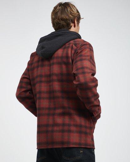 3 Furnace - Camisa Reforzada para Hombre Rojo Q1SH12BIF9 Billabong