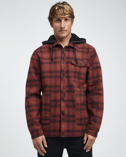 2 Furnace - Camisa Reforzada para Hombre Rojo Q1SH12BIF9 Billabong