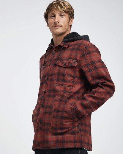4 Furnace - Camisa Reforzada para Hombre Rojo Q1SH12BIF9 Billabong