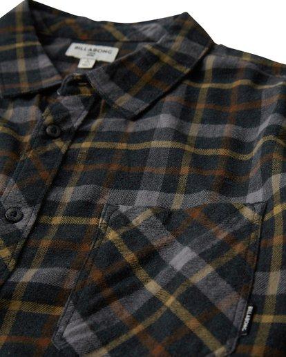 4 Fremont - Flanell Hemd für Männer Schwarz Q1SH13BIF9 Billabong
