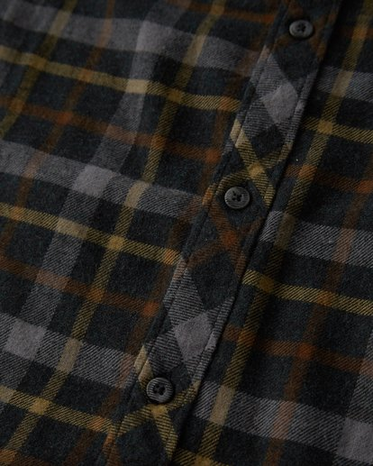 5 Fremont - Flanell Hemd für Männer Schwarz Q1SH13BIF9 Billabong