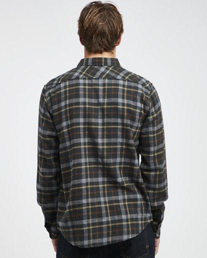7 Fremont - Flanell Hemd für Männer Schwarz Q1SH13BIF9 Billabong