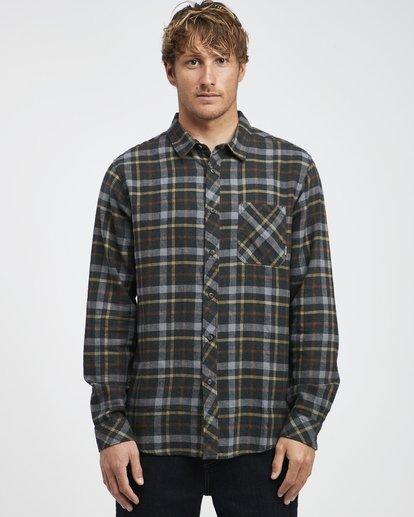 6 Fremont - Flanell Hemd für Männer Schwarz Q1SH13BIF9 Billabong