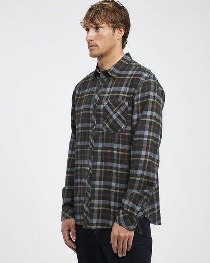 8 Fremont - Flanell Hemd für Männer Schwarz Q1SH13BIF9 Billabong