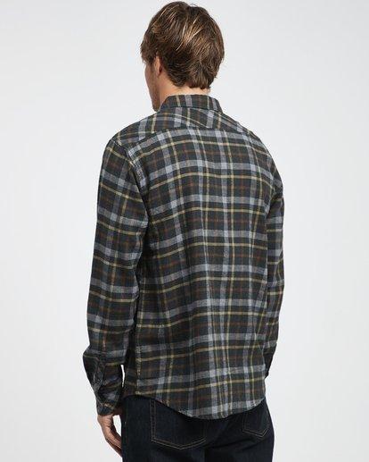 9 Fremont - Flanell Hemd für Männer Schwarz Q1SH13BIF9 Billabong
