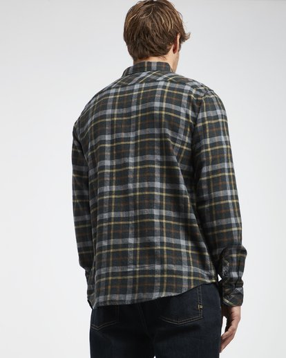1 Fremont - Flanell Hemd für Männer Schwarz Q1SH13BIF9 Billabong