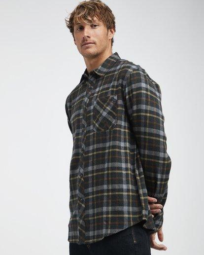 2 Fremont - Flanell Hemd für Männer Schwarz Q1SH13BIF9 Billabong