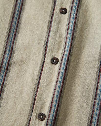 5 Sundays - Jaquard Kurzärmeliges Hemd für Männer Weiss Q1SH15BIF9 Billabong