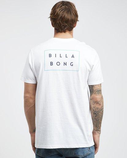 7 Die Cut - Camiseta de Manga Corta para Hombre Blanco Q1SS01BIF9 Billabong
