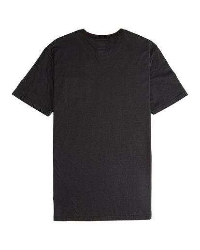 5 Stacked - T-Shirt für Männer Schwarz Q1SS05BIF9 Billabong