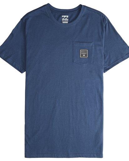 4 Stacked - T-Shirt für Männer Blau Q1SS05BIF9 Billabong