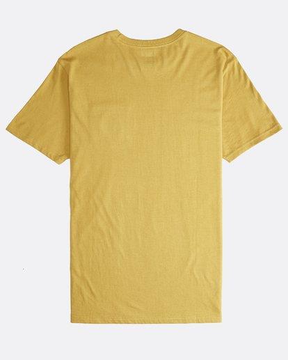 1 Stacked - T-Shirt für Männer Gelb Q1SS05BIF9 Billabong