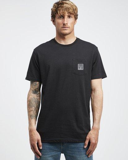 6 Stacked - T-Shirt für Männer Schwarz Q1SS05BIF9 Billabong
