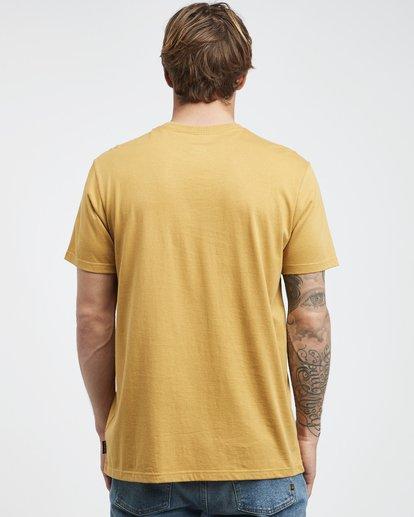 7 Stacked - T-Shirt für Männer Gelb Q1SS05BIF9 Billabong
