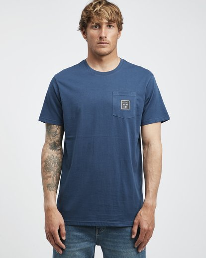 6 Stacked - T-Shirt für Männer Blau Q1SS05BIF9 Billabong