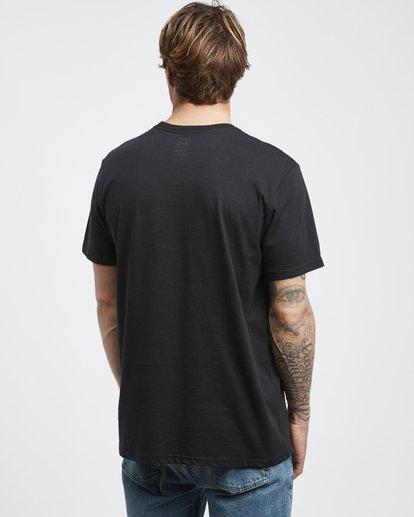 3 Stacked - T-Shirt für Männer Schwarz Q1SS05BIF9 Billabong