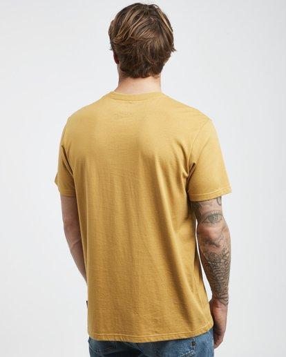 3 Stacked - T-Shirt für Männer Gelb Q1SS05BIF9 Billabong