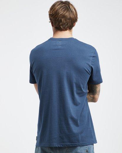3 Stacked - T-Shirt für Männer Blau Q1SS05BIF9 Billabong
