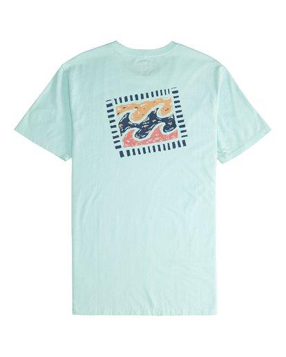 5 Iconic - T-Shirt für Männer Grün Q1SS06BIF9 Billabong