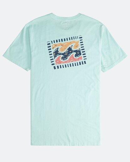 1 Iconic - T-Shirt für Männer Grün Q1SS06BIF9 Billabong
