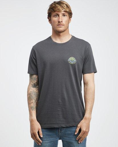 6 Iconic - T-Shirt für Männer Schwarz Q1SS06BIF9 Billabong