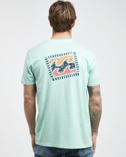 7 Iconic - T-Shirt für Männer Grün Q1SS06BIF9 Billabong