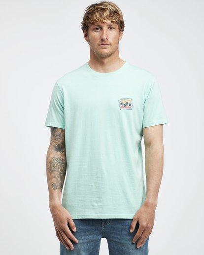 6 Iconic - T-Shirt für Männer Grün Q1SS06BIF9 Billabong