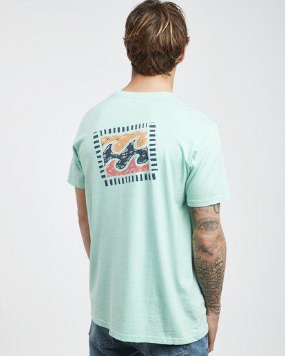 3 Iconic - T-Shirt für Männer Grün Q1SS06BIF9 Billabong
