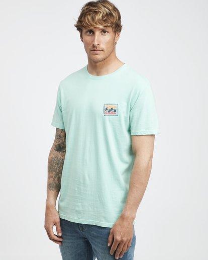2 Iconic - T-Shirt für Männer Grün Q1SS06BIF9 Billabong