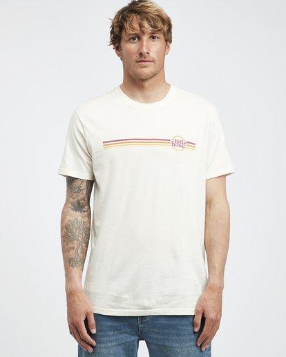 6 Cruiser Stripe - T-Shirt für Männer Weiss Q1SS08BIF9 Billabong