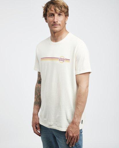 2 Cruiser Stripe - T-Shirt für Männer Weiss Q1SS08BIF9 Billabong