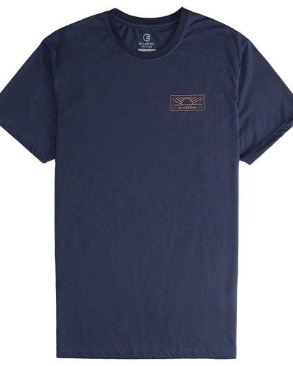 5 Beach Path - T-Shirt à manches courtes pour Homme Bleu Q1SS12BIF9 Billabong