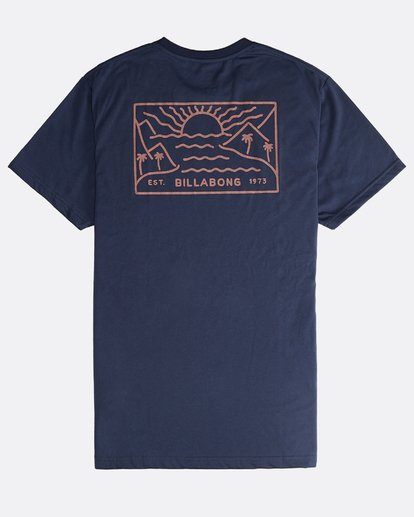 1 Beach Path - T-Shirt à manches courtes pour Homme Bleu Q1SS12BIF9 Billabong