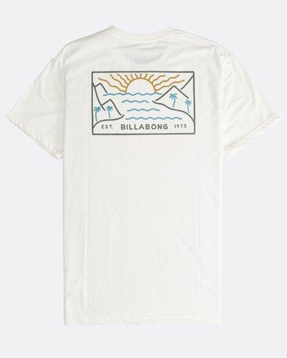 1 Beach Path - Camiseta de Manga Corta para Hombre  Q1SS12BIF9 Billabong