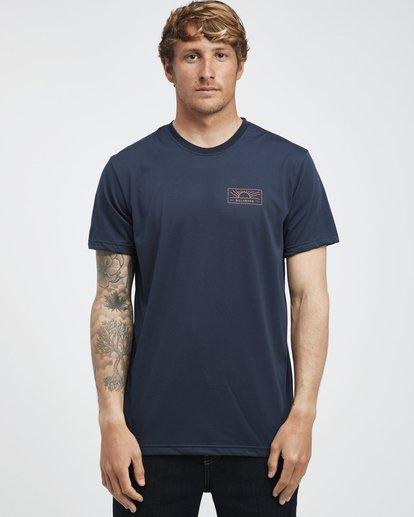 7 Beach Path - T-Shirt à manches courtes pour Homme Bleu Q1SS12BIF9 Billabong