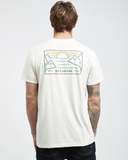 8 Beach Path - Camiseta de Manga Corta para Hombre  Q1SS12BIF9 Billabong