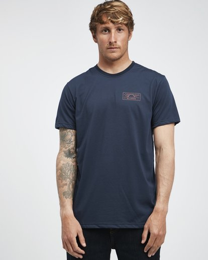 2 Beach Path - Camiseta de Manga Corta para Hombre  Q1SS12BIF9 Billabong