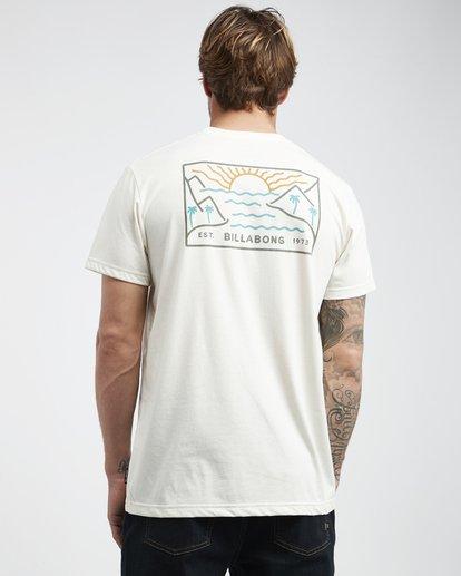 3 Beach Path - Camiseta de Manga Corta para Hombre  Q1SS12BIF9 Billabong