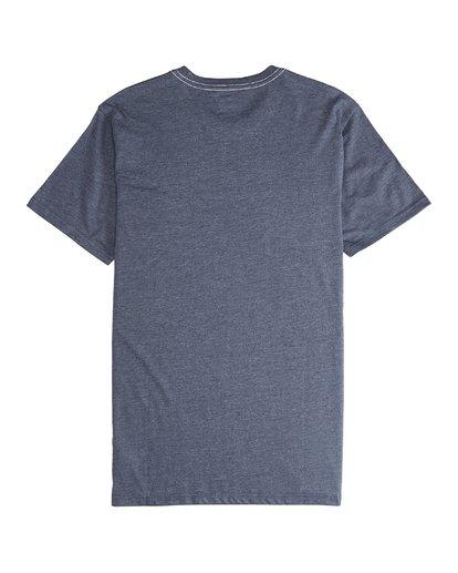 5 Wave - Camiseta de Manga Corta para Hombre Azul Q1SS14BIF9 Billabong
